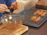 Пилешки шишчета с флен от нахут и тиквички 8