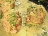 Агнешки кюфтета магданозлия с млечен сос