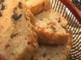 Маслинен хляб с шунка