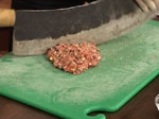 Фъстъклъ кебап (Агнешки кебап с шамфъстък) 2