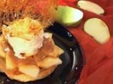 Тарта с ябълки и астурийски крем