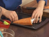 Пиперени фунийки със сирене и зелени чушки 4