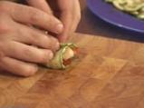 Запечени домати с моцарела и тиквички 4