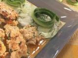 Пилешки хапки с кокосова салата от кр...