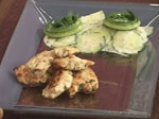 Пилешки хапки с кокосова салата от краставици 6