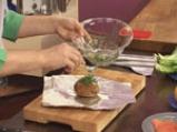 Картофен сандвич с пушена сьомга 2