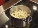 Студена доматена супа с ескабече от патладжан