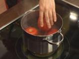 Студена доматена супа с ескабече от патладжан 4