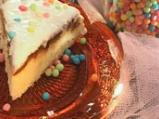 Торта с карамелизирани ябълки