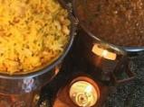 Джафрани пилау (Ориз с шафран и ядки)