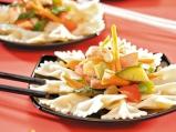 Паста  със зеленчуци по азиатски