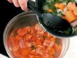 Капучино от чери домати 2
