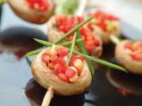 Печурки със зеленчуково рататуи и пре...