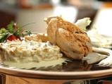 Пилешка плитка със сметанов ринг