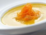 Крем супа от карфиол и моркови, обога...