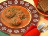 Телешки кюфтенца с патладжан и доматен сос 4