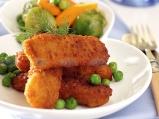 Риба със задушени зеленчуци