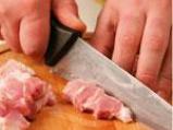 Свинско месо с туршия