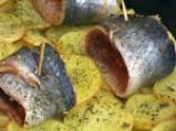 Херинга с картофи на фурна 4