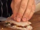 Филе от лаврак със зеленчукова коричка 4