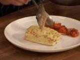 Филе от лаврак със зеленчукова коричка 8