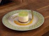 Чийзкейк с алое вера и сос от манго 5