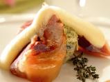 Еленски бут със суфле от спанак и сос...
