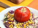 Цветна арбанашка салата 2