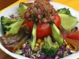 Цветна арбанашка салата 3