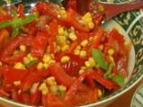 Царевична салата с чушки