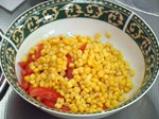 Царевична салата с чушки 2