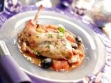 Заек с домати и маслини