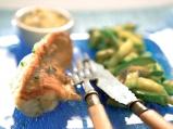 """Филе от морски дявол със сос """"Бернез""""..."""