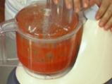 Салата от зелен фасул с доматен винегрет 2