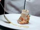 Ароматни рулца от риба треска със сьомга и горчичен сос 3