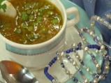Доматена супа с грах и кокос по индийски