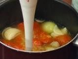 Мидена чорба с доматен бульон