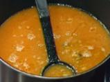 Мидена чорба с доматен бульон 2