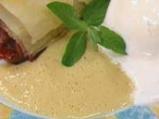 Вишнев щрудел с ванилово-карамелов сос