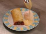 Вишнев щрудел с ванилово-карамелов сос 6