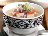 Супа от риба, нудълс и пеперончино