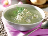 Студена супа от тиквички