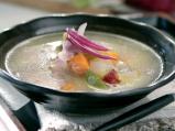 Зеленчукова супа с кисело мляко