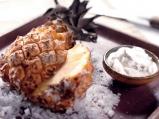 Десерт с ананас за двама