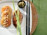 Пиле с паста къри и фъстъци