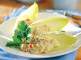 Яйчна салата в цикория