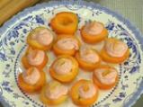 Пълнени кайсии с ягодов крем 3