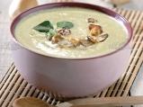 Крем супа от манатарки и печурки