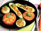 Пълнени зеленчуци с хлебна плънка