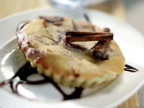 Тарталети с шоколадово-бананов вкус